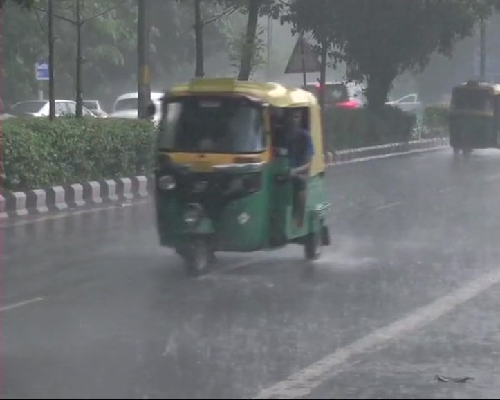 Rain lashesinRK Puram area, Delhi