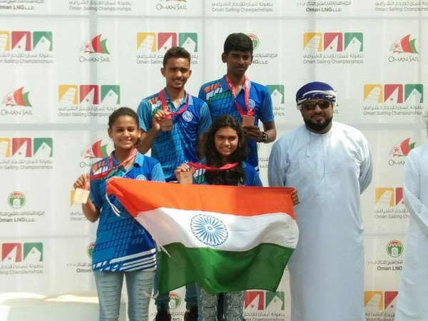Junior sailors clinch 5 medals in Oman Sailing Championship