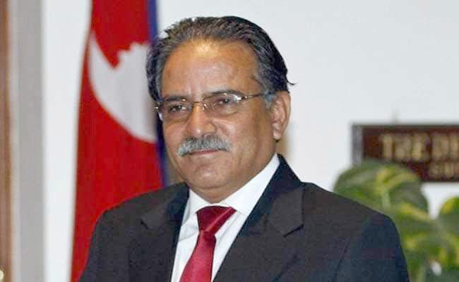 Nepal's former prime minister Pushpa Kamal Dahal