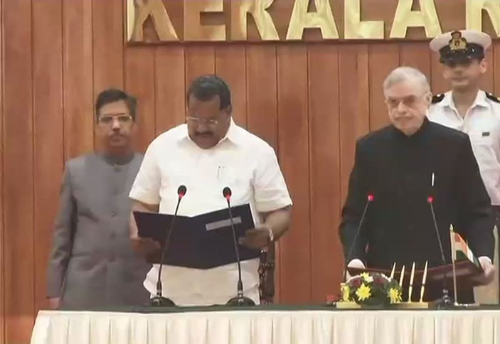 E P Jayarajan sworn in as a minister