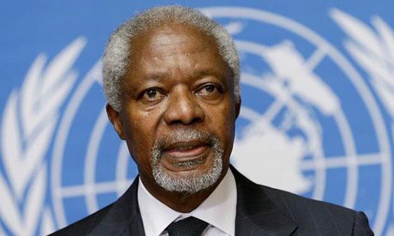 Kofi Annan (File Photo)