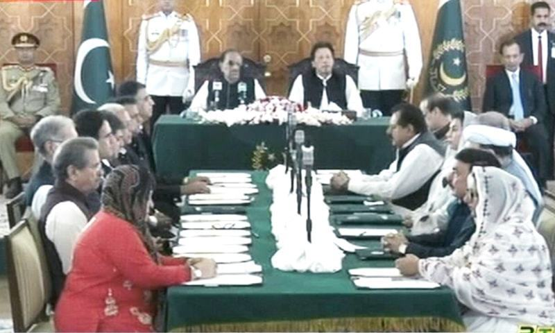 PM Imran Khan's Cabinet sworn in