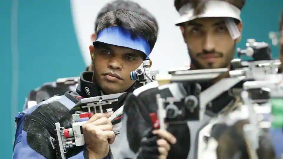 Indian shooter Deepak Kumar
