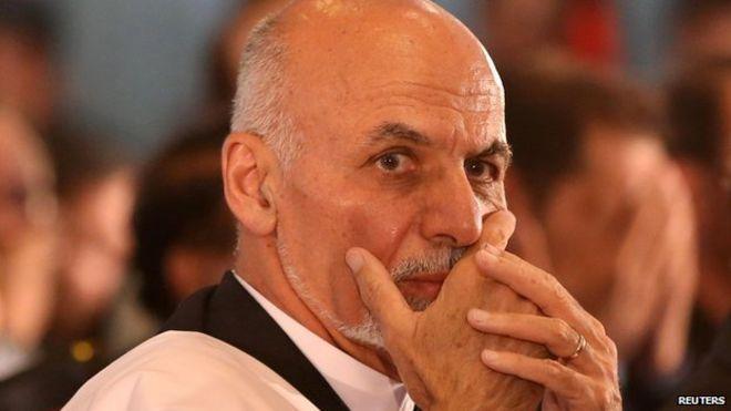 Afghanaistan President Ashraf Ghani