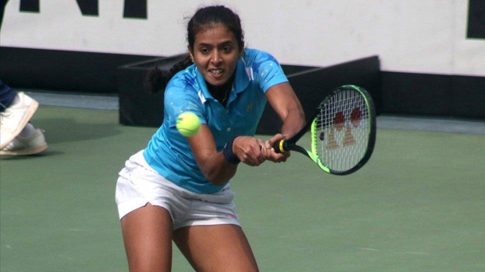 Indian tennis player Anikta Raina (File Photo)
