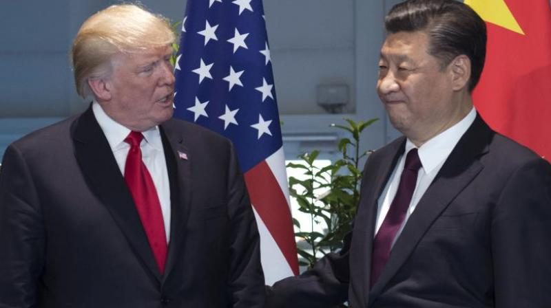 US President Donald Trump with China President Xi Jinping (File Photo)