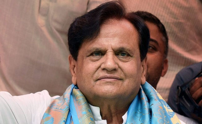 Ahmed Patel (File Photo)