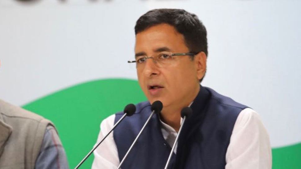 Congress chief spokesperson Randeep Surjewala