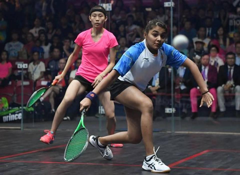 Indian women's squash team