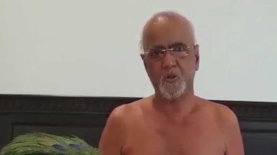 Jain monk  Tarun Sagar