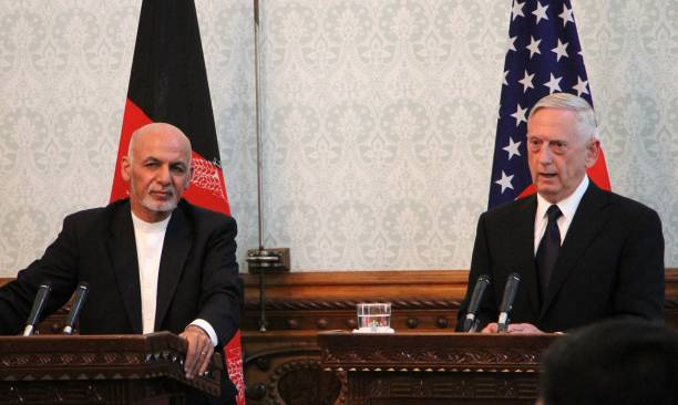 James Mattis and Ashraf Ghani