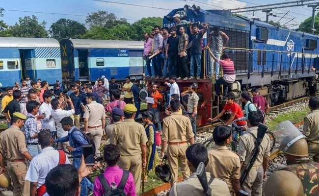 Train stopped in Odisha