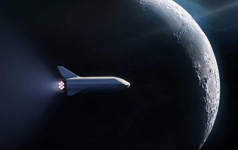 SpaceX signs its first passenger to fly aboard the Big ...