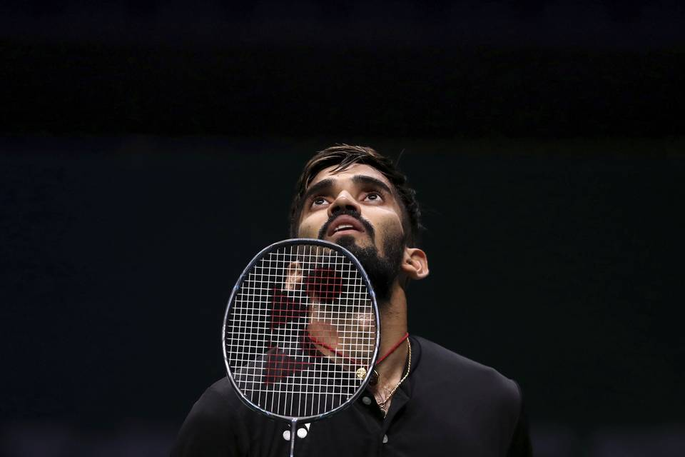 Ace Indian shuttler Kidambi Srikanth
