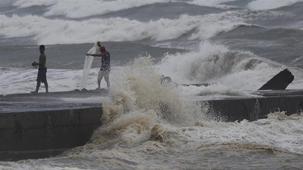 At least five million people are directly at risk from the storm, the strongest this year