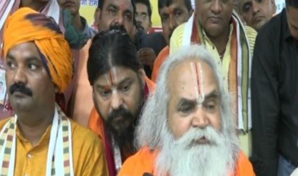 Ram Janambhoomi Nyas president Ram Vilas Vedanti