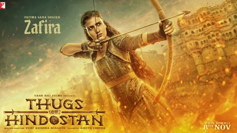 Motion poster of 'Thug of Hindostan'