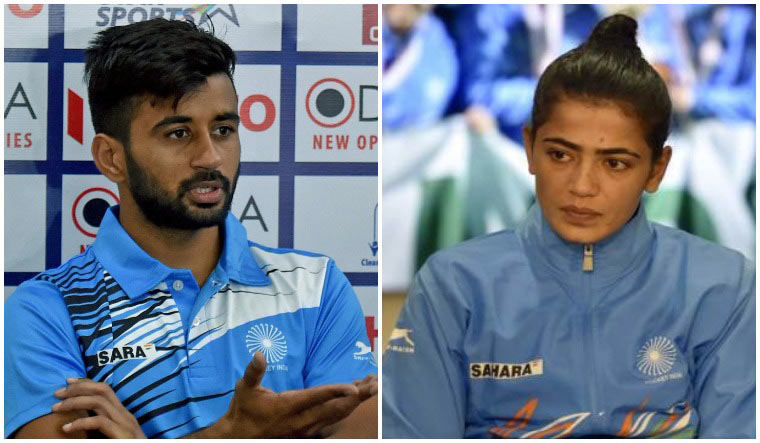 Manpreet Singh and Savita