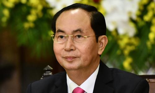 Vietnam President Tran Dai Quang (File Photo)