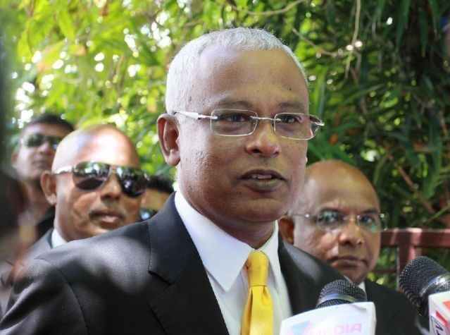Ibrahim Mohamed Solih (File Photo)