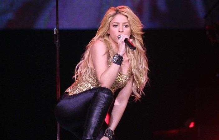 American singer Shakira (File Photo)