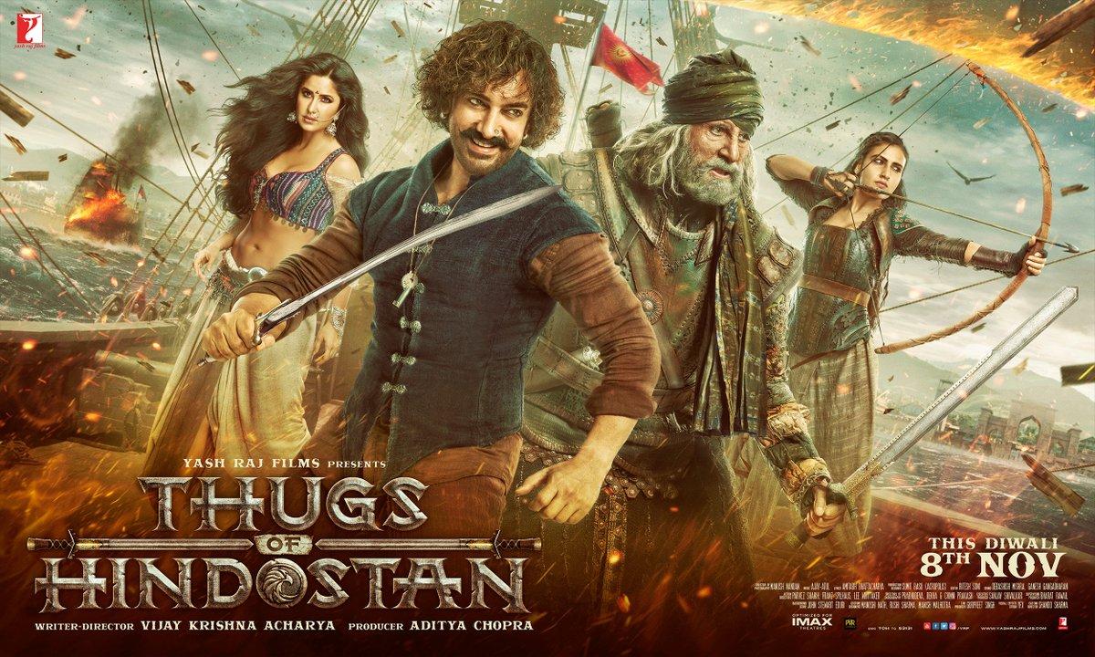 Poster of Thug of Hindostan