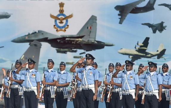 Indian Air Force celebrating it's  86th anniversary