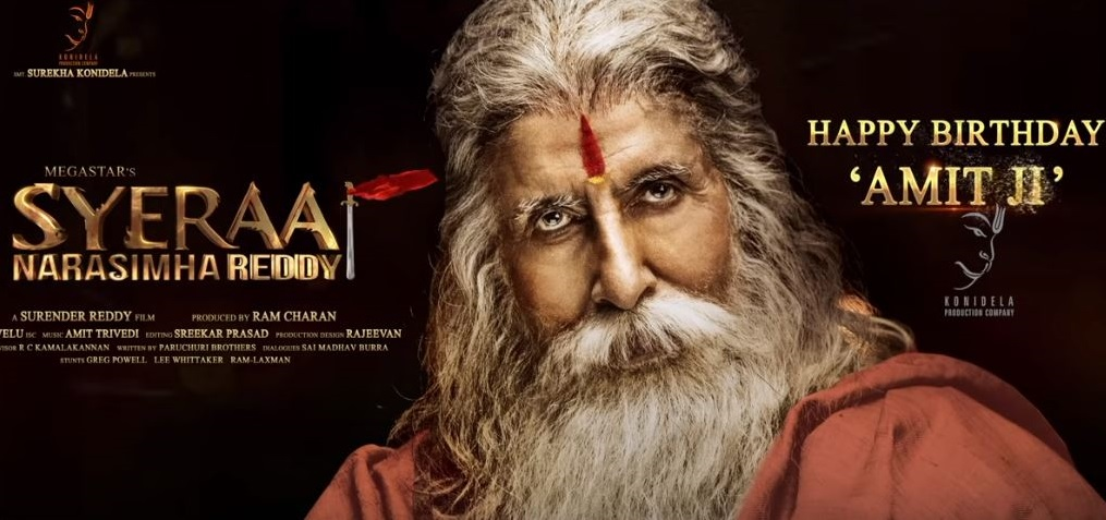 Amitabh Bachchan is 'Sye Raa Narasimha Reddy'