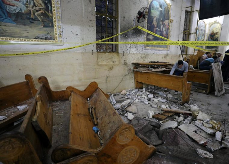 IS attack church in Egypt