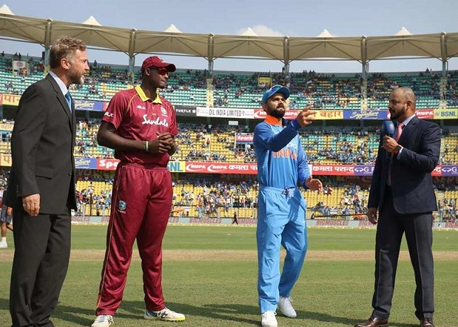 India won the toss against WI