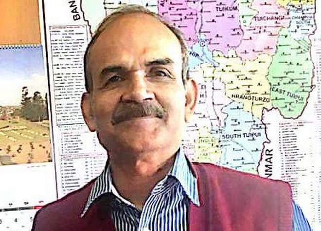 Mizoram Chief Electoral Officer S B Shashank