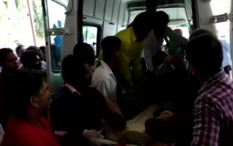 Injured people sent to nearby hospital