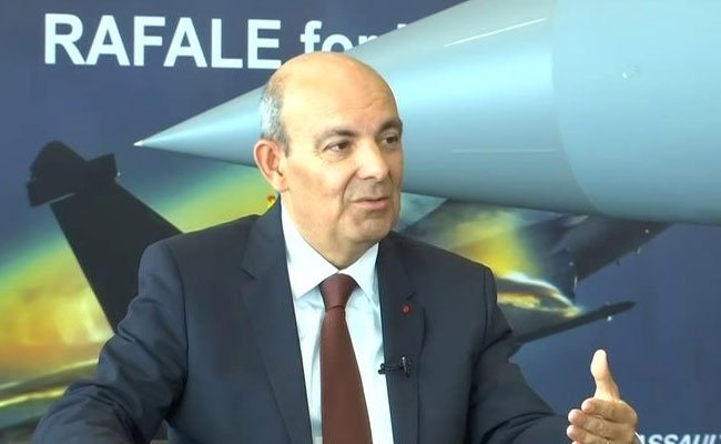 CEO of Dassault Aviation Eric Trappier