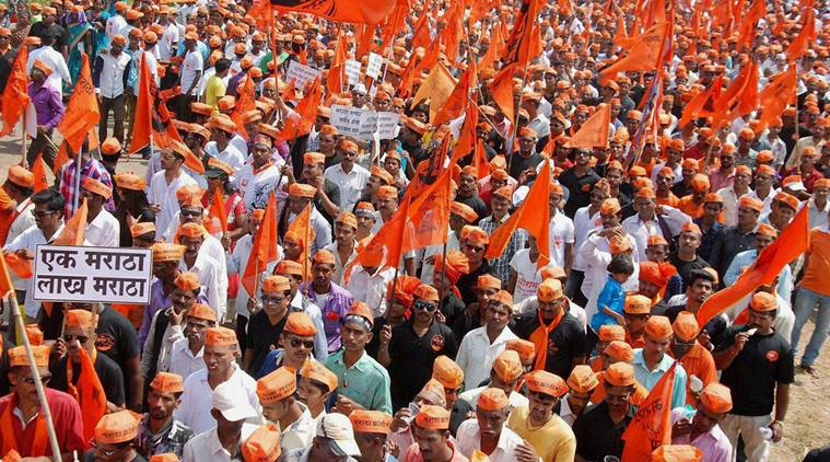 Maratha community protesting for reservation (File Photo)