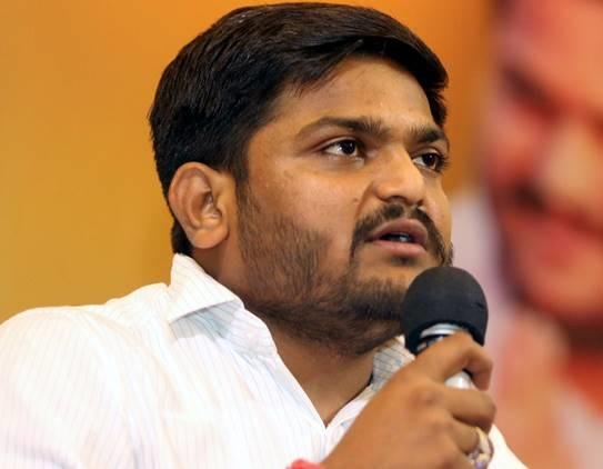 Patidar Anamat Andolan Samiti leader Hardik Patel (File Photo)