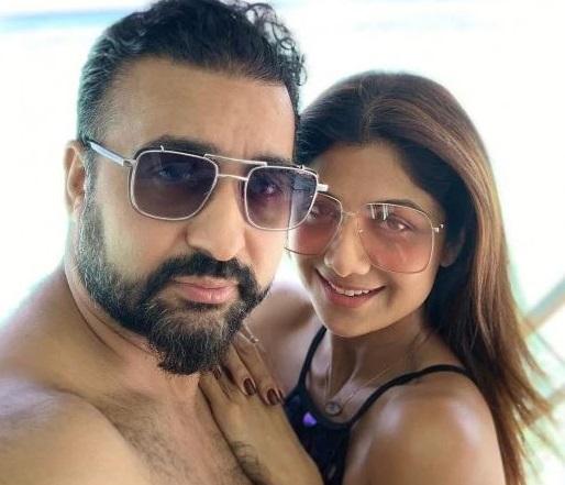 Shilpa Shetty with his husband Raj Kundra