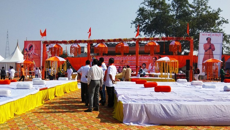 Stage all set for Shiv Sena chief Uddhav Thackeray