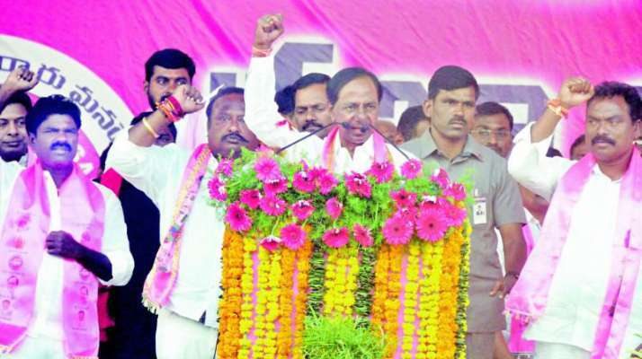 Telangana Chief Minister K Chandrasekha Rao