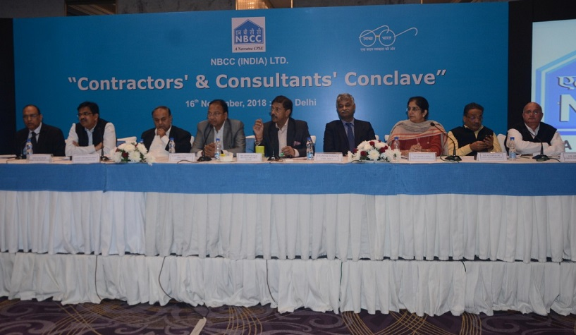 NBCC CMD Dr Mittal during the conclave