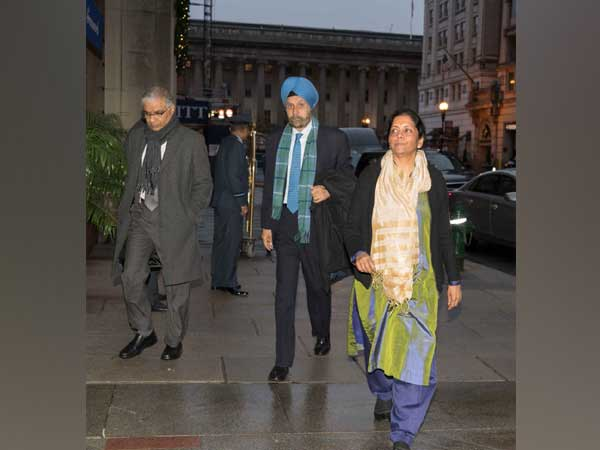 Defence Minister Sitharaman in Washington D.C