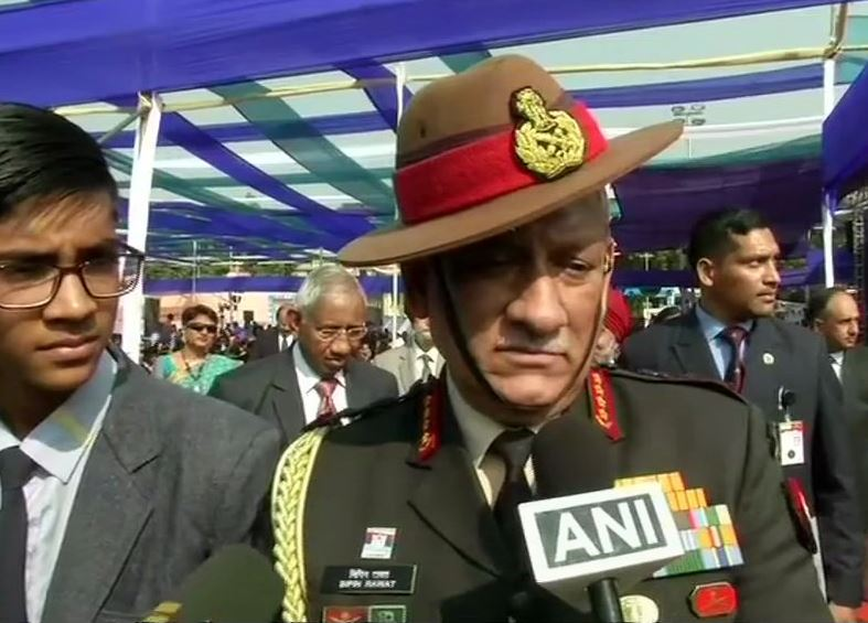 Indian Army Chief, General Bipin Rawat