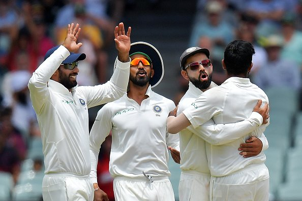 Team India rejoices it victory