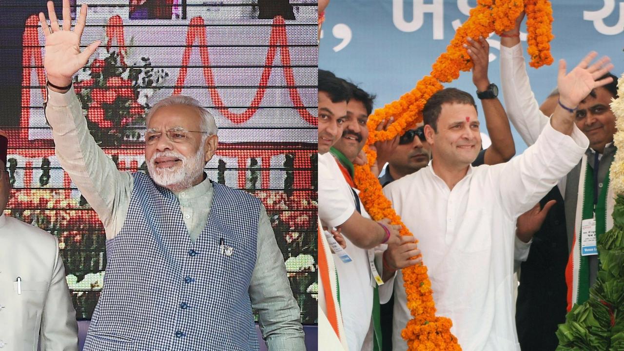 Rahul Gandhi  And Prime minister Narender modi