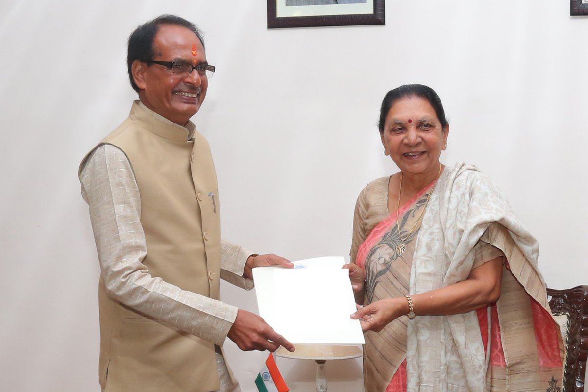 Shivraj Singh Chouhan submits his resignation