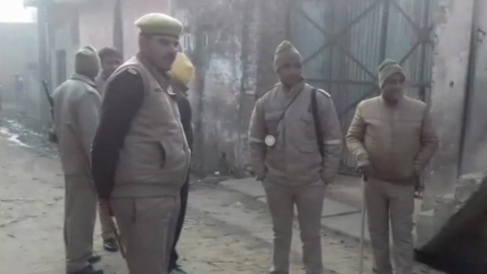 NIA officials in  Amroha conducting raids over new IS module
