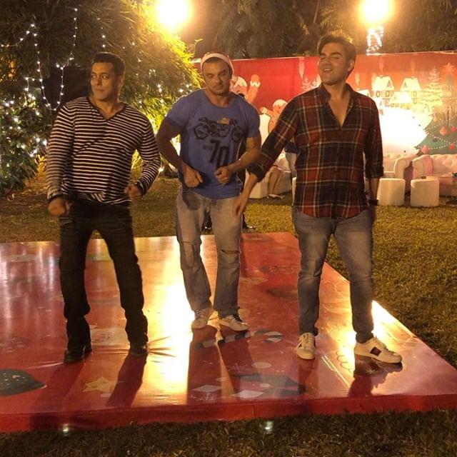 Salman Khan, Sohail Khan, Arbaaz Khan