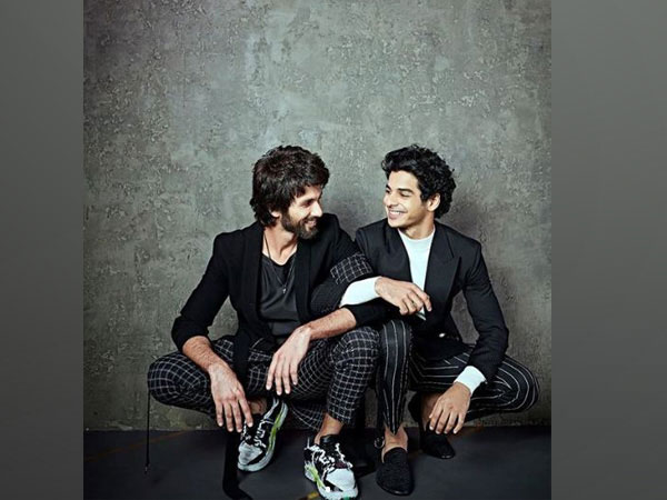 Shahid Kapoor and Ishaan Khatter, Picture courtesy: Instagram