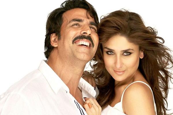 Bollywood stars Akshay Kumar and Kareena Kapoor