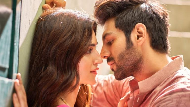 Kartik Aaryan and Kriti Sanon
