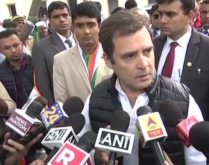 Congress President Rahul Gandhi